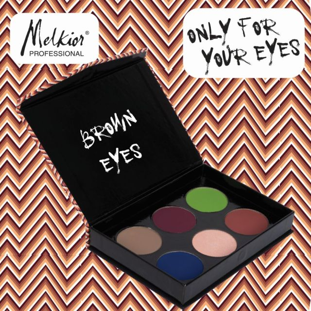 Paleta Brown Eyes MELKIOR (2)