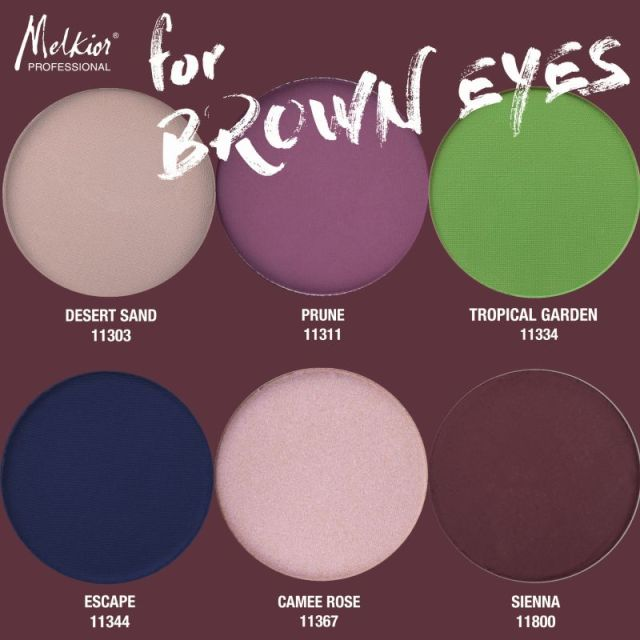 Paleta Brown Eyes MELKIOR (3)