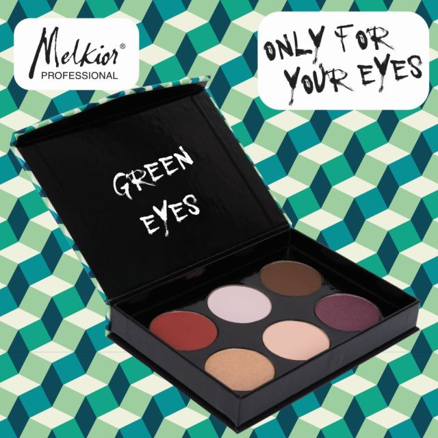 Paleta Green Eyes MELKIOR (2)