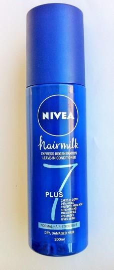 nivea hairmilk 7+