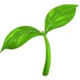 emoji plant
