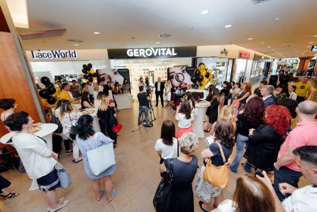 Deschidere Gerovital Iulius Mall Cluj